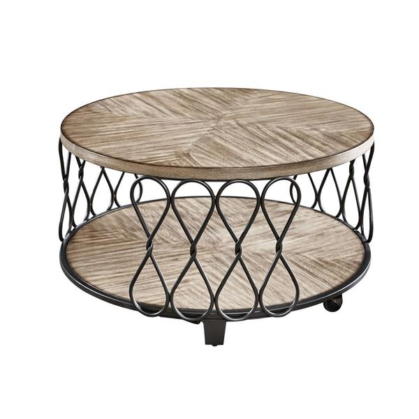 See Details - Belcourt Cocktail Table w/Casters