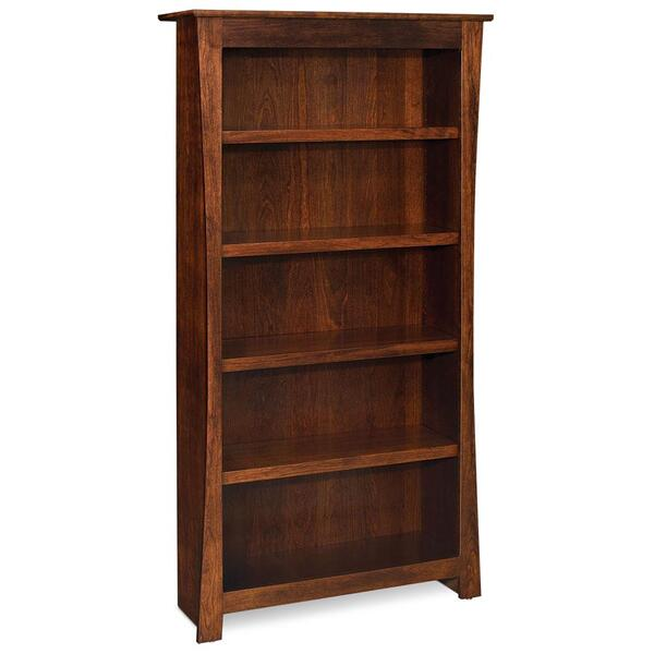 See Details - Garrett Bookcase, 3 Adjustable Shelves