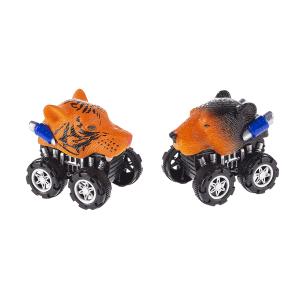 Wild Animal Head Racers (12 pc. ppk.)