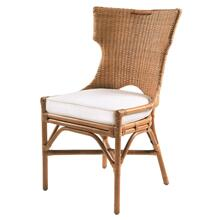 Wickham Rattan Chair, Honey