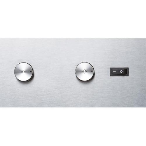 """UP26 - 42"""" Stainless Steel Pro-Style Range Hood with internal/external blower options 300 to 1650 Max CFM"""