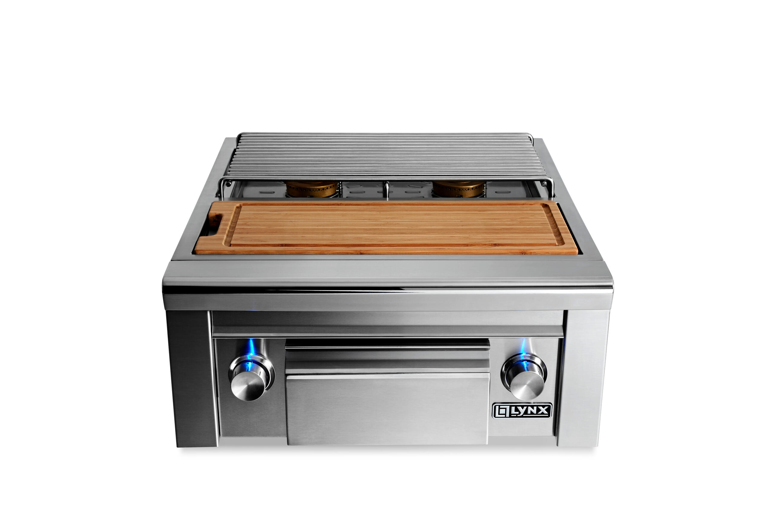 LynxPrep Center With Double Side Burner Ng