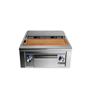 LynxPrep Center with Double Side Burner LP