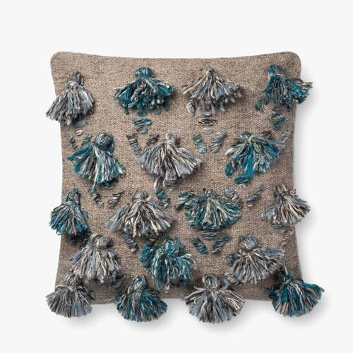 P0695 Blue / Multi Pillow