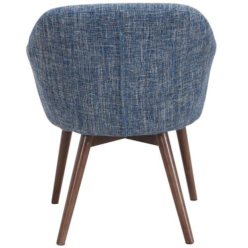 Minto Accent/Dining Chair in Blue Blend