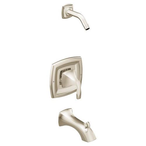 Voss polished nickel posi-temp® tub/shower
