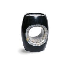 Round Accent Table w/ Blackstone