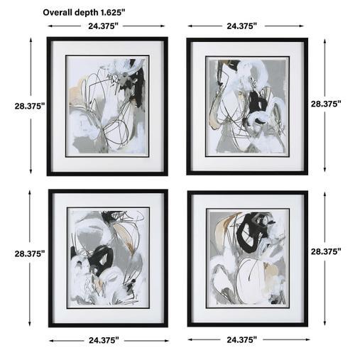 Uttermost - Tangled Threads Framed Prints, S/4