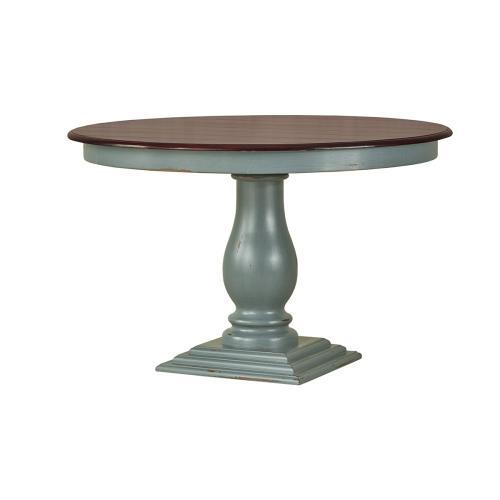 Whitehall Pedestal Dining Table 48''