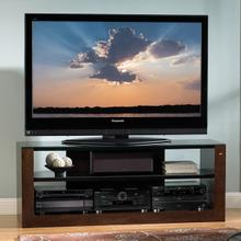 AVSC2061E Espresso Finish Contemporary A/V System for most Flat Panel TVs up to 65 inches from Bell'O International Corp.