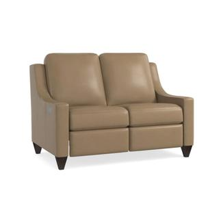 See Details - Motion Reclining Leather Loveseat