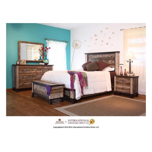 Antique Queen Bed