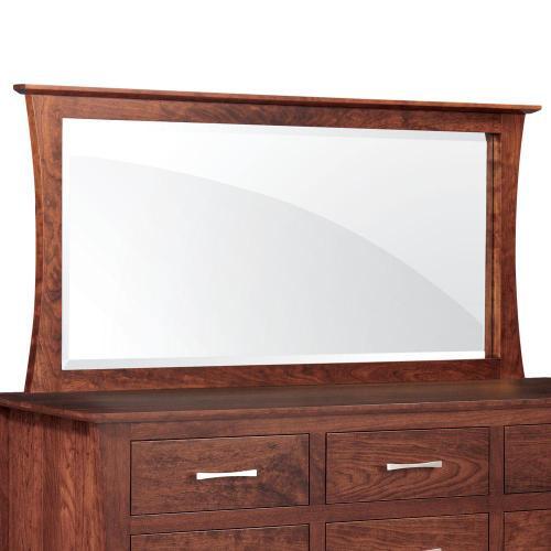Simply Amish - Loft Bureau Mirror - Express