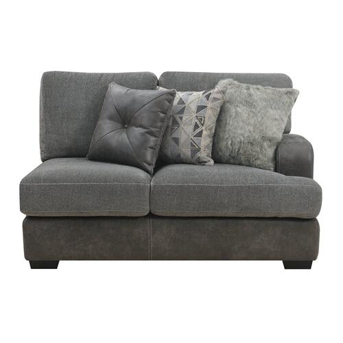 Emerald Home Berlin U4551-12-03 Rsf Loveseat W/ 3 Pillows