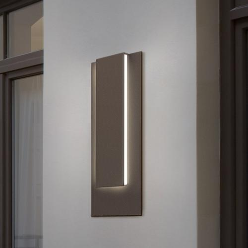 Sonneman - A Way of Light - Reveal Tall LED Sconce [Color/Finish=Textured White]