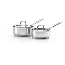 Stainless Steel 2-Piece Sauce Pan Set