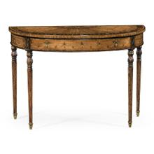 Adam Style Console (Satinwood)