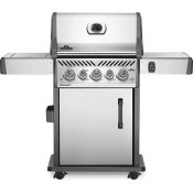 Rogue SE 425 RSIB with Infrared Side and Rear Burners , Stainless Steel , Propane
