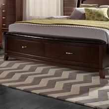 California King Storage Footboard