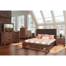 Cagney 4 Piece King Bedroom Group