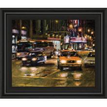 """Radio City, New York City"" By Desmond O'Hagan Framed Print Wall Art"