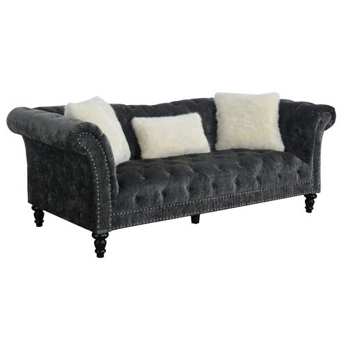 Hutton II Sofa, Charcoal Gray U3164-00-53