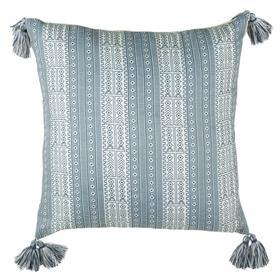 Lunette Pillow - White / Grey