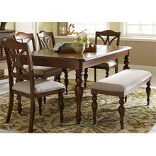 View Product - 6 Piece Rectangular Table Set