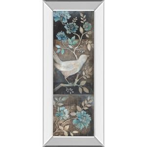 """""""Out Of The Blue I"""" By Kimberly Poloson Mirror Framed Print Wall Art"""