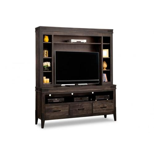 Handstone - Chattanooga HDTV Unit with Hutch with 44'' TV Opening