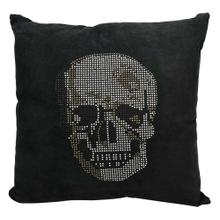"Luminescence L1293 Black 18"" X 18"" Throw Pillow"