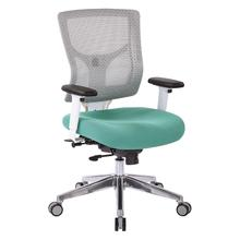 Progrid® White Mesh Mid Back Chair