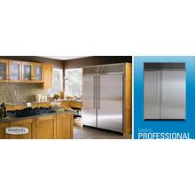 "See Details - 60"" Side by Side Refrigerator/Freezer - 60"" Marvel Professional Side-by-Side Refrigerator/Freezer"