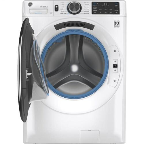 GE® 4.8 cu. ft. Capacity Smart Front Load ENERGY STAR® Steam Washer with SmartDispense™ UltraFresh Vent System with OdorBlock™ and Sanitize + Allergen