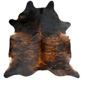 L.M.T. Rustic and Western Imports - Exotic Dark Brindle Cowhide