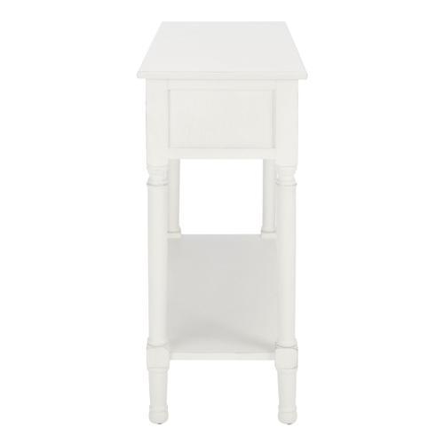 Safavieh - Allura 2 Drawer Console Table - Distressed White