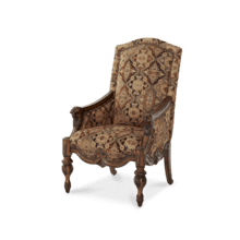 Fabric Wood Chair - Opt1