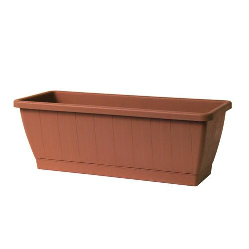 Kezar Plant Box w/att oblong tray, Large (Greener)