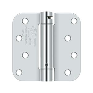 "4"" x 4"", 5/8"" Radius Corner, TT, UL Listed - Polished Chrome"