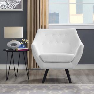 Allegory Armchair in White