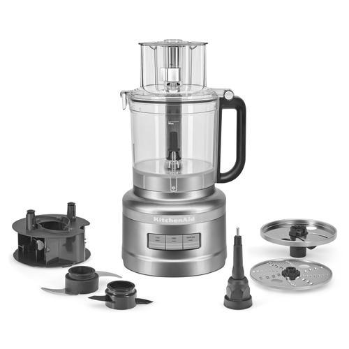 13-Cup Food Processor - Contour Silver