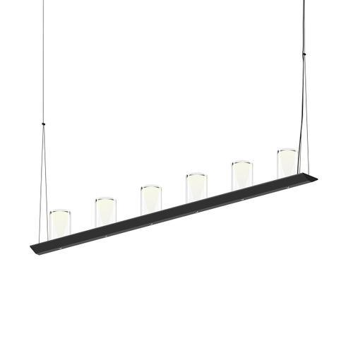 "Sonneman - A Way of Light - Votives LED Bar Pendant [Size=4', Color/Finish=Satin Black, Shade Size=4.5"" height x 2.75"" diameter]"