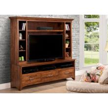 View Product - Glengarry HDTV Cabinet w/ Hutch w/ 54'' TV Opening