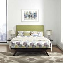 See Details - Tracy 3 Piece Queen Bedroom Set in Cappuccino Green