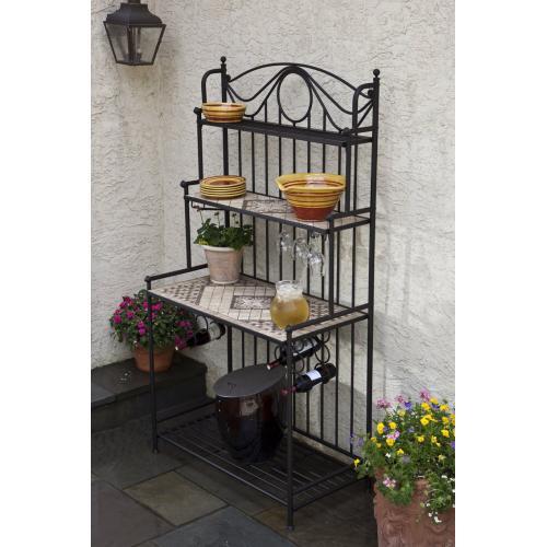 "Basilica 41"" Bakers' Rack Shelves - Set of 2"