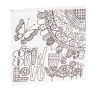 """""""Grow Love"""" Magnet Block. Product Image"""