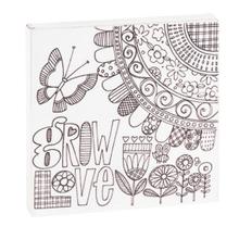 "See Details - ""Grow Love"" Magnet Block."
