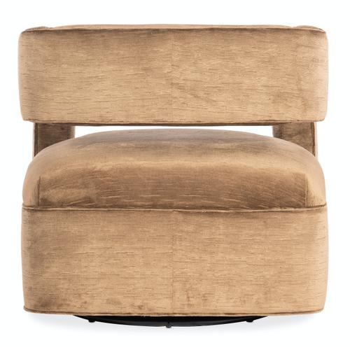 Living Room Makani Swivel Chair - Metal Base