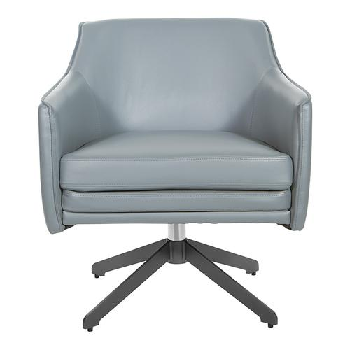 Faux Leather Guest Chair
