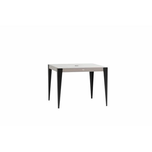 "38"" Square Dining Table w/Umbrella Hole"